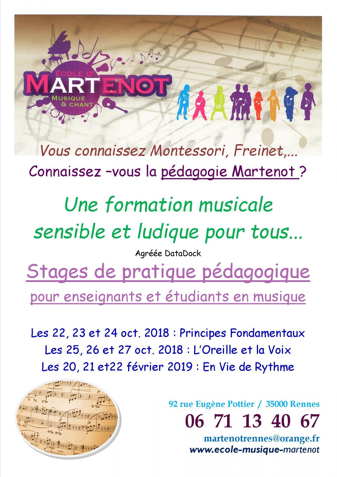 Formation pro 2018 2019