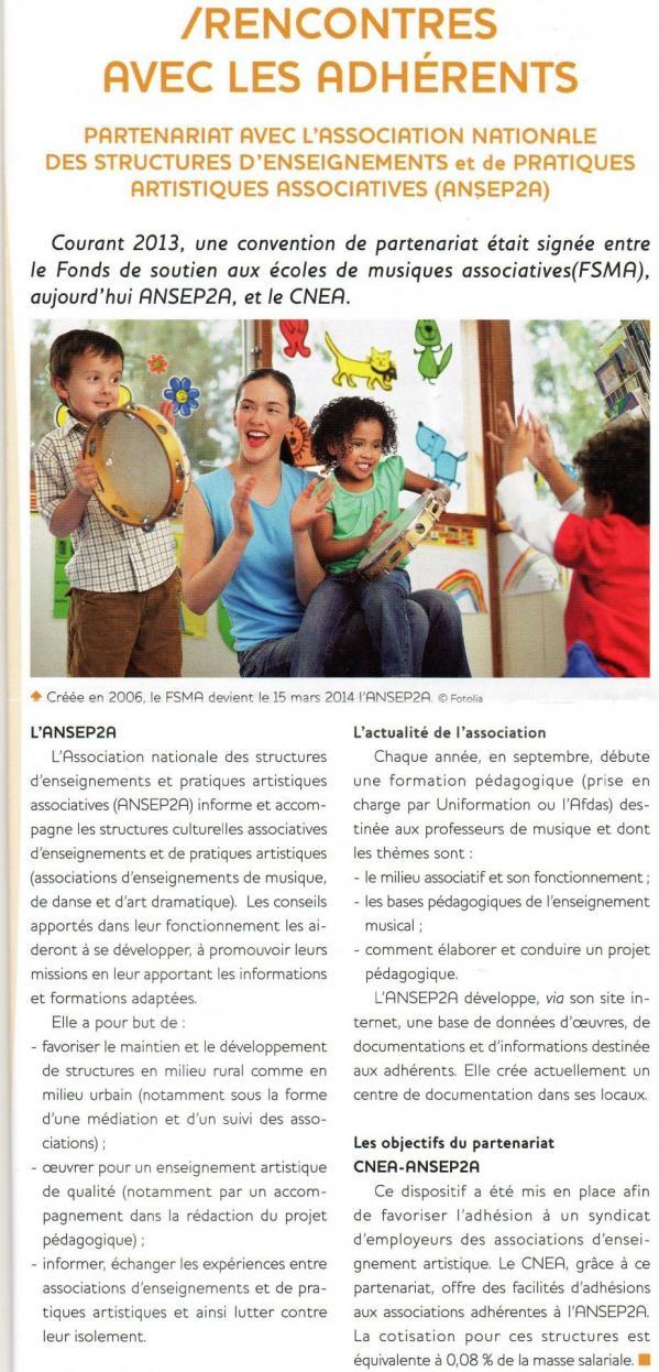 Lettre info du cnea n 12 juillet 2014